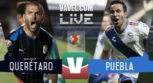 Resultado Querétaro - Puebla en Liga MX 2015 (0-0)