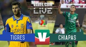 Tigres vs Jaguares Chiapas en vivo y online en Liguilla Liga MX 2015 (0-0)