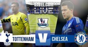 Resultado Tottenham - Chelsea en Premier League 2015 (0-0): mucho ruido para tan poco fútbol