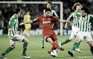 Antecedentes Real Betis - Real Madrid
