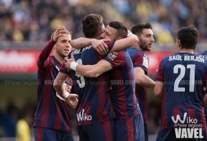 El Eibar, el equipo que más tiempo ha estado por delante en el marcador