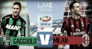 Sassuolo-Milan in diretta, Serie A 2017/18 LIVE (0-2): PERLA DI SUSO, RADDOPPIO MILAN!