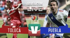 Resultado Toluca - Puebla en Liguilla Apertura 2015 (1-0)
