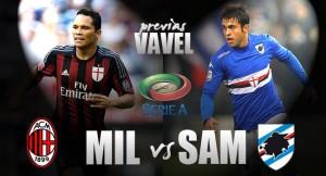 AC Milan - Sampdoria: escasez de goles, necesidad de victoria