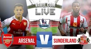 Resultado Arsenal - Sunderland (3-1): Buen final a pesar de los fallos