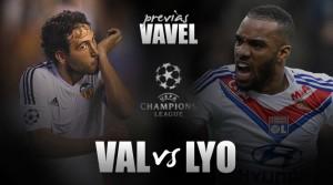 Valencia, tutto in una notte da Lione