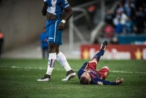 La goleada histórica en el derbi catalán sigue siendo blanquiazul