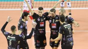 Volley M - Vincono tutte e 3 le formazioni italiane in Cev Champions League