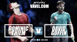 Previa Dominic Thiem-David Goffin: dos amigos en busca de una semifinal