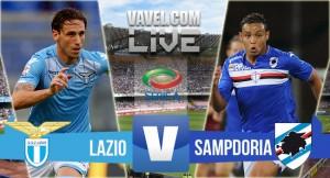 Live Lazio - Sampdoria, diretta Serie A 2015/16 (1-1)