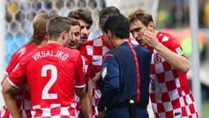 Brasil - Croacia, puntuaciones de Croacia, jornada 1 grupo A