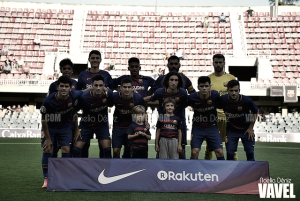 Resumen del CA Osasuna vs FC Barcelona B en la Liga 1|2|3