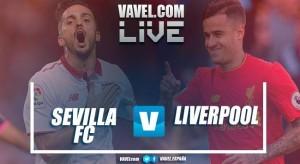 Sevilla vs Liverpool Live Stream Score Commentary in Champions League 2017