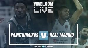 Resumen Panathinaikos 82 vs 80 Real Madrid en vivo online en Euroliga 2017