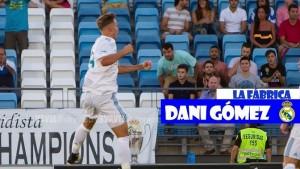 Con el gol entre ceja y ceja: Dani Gomez