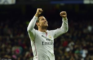Real Madrid 3-0 Celta De Vigo: Ronaldo hat-trick extends Madrid lead at the top of the table
