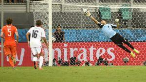 Países Bajos - Costa Rica, puntuaciones de Costa Rica, cuartos de final