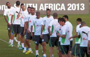 المنتخب الجزائري ينهي اخر محطة تحضيرية قبل كأس إفريقيا