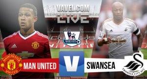 Risultato Manchester United - Swansea, Premier League 2015/16 (2-1): Martial, Sigurdsson, Rooney