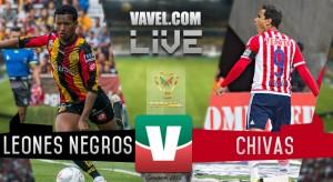 Resultado Leones Negros UDG vs Chivas en Copa MX 2016 (0-1)