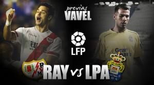 Rayo Vallecano - Las Palmas: alejarse del descenso