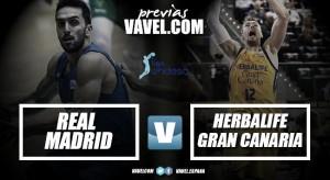 Previa Real Madrid vs Herbalife Gran Canaria: sobreponerse a las lesiones