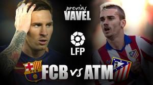 FC Barcelona - Atlético de Madrid: media Liga se juega en el Camp Nou