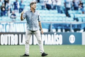 """Renato elogia segundo tempo do Grêmio ante Flamengo: """"Viramos contra adversário muito forte"""""""