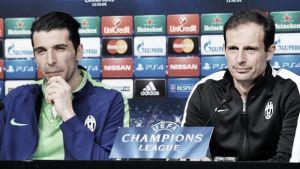 """Allegri e Buffon: """"Non è la partita dell'anno, speriamo di giocarne altre"""""""
