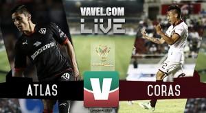 Resultado Atlas - Coras Tepic en Copa MX 2016 (1-2)