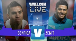 Benfica - Zenit terminata in Champions League 2015/16 (1-0): Jonas-gol