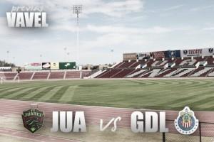 Previa Juárez - Chivas: el campeón estrena corona ante el monarca del Ascenso
