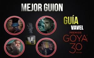 Camino a los Goya 2016: mejor guion