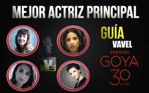 Camino a los Goya 2016: mejor actriz principal