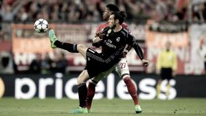 Bale es duda para la vuelta ante el Bayern