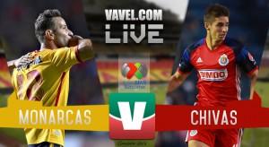 Resultado Monarcas Morelia vs Chivas en Liga MX 2016 (2-0)