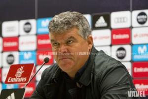 """Onésimo Sánchez: """"En nuestras circunstancias, el punto es bueno"""""""