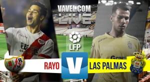 Resultado Rayo Vallecano vs Las Palmas en la Liga 2016 (2-0): Miku y Bebé bastan para el Rayo
