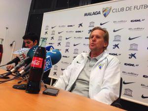 """Schuster: """"Estoy convencido de que veremos al Málaga que nos gusta a todos"""""""
