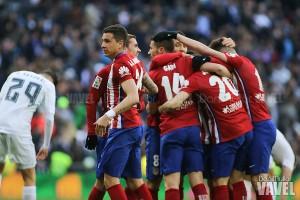 El Atleti reina en el Bernabéu