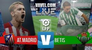 Resultado Atlético de Madrid - Real Betis en Liga BBVA 2016 (5-1)