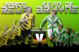 Marco Reus vs Kevin De Bruyne: un balón en la chistera