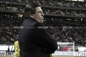 """Miguel Herrera: """"Estamos peleando en ambos frentes"""""""