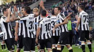 El Udinese brilló ante una Fiore decepcionante