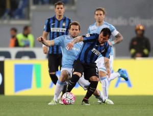 Lazio - Inter 2-0: Klose e Candreva decidono la sfida