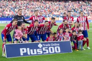 Atlético de Madrid - Málaga: puntuaciones Atlético de Madrid, jornada 35