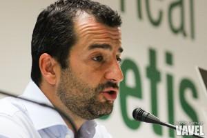 """Diego Martínez: """"Te vas con un sabor amargo, pero creo que hemos hecho un buen partido"""""""