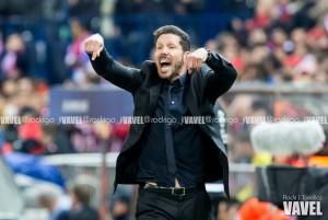 """Simeone: """"Impusimos las formas para jugar este partido"""""""