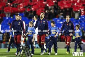 Un Barça herido y fatigado visitará Anoeta