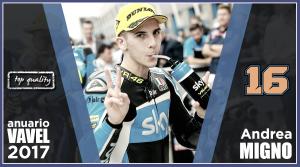 Anuario VAVEL Moto3 2017: Andrea Migno, irregular con futuro